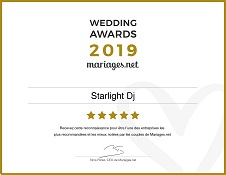 Wedding Awards Starlight DJ Toulouse